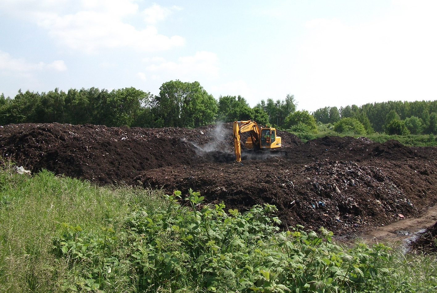 Green waste Composting Plant
